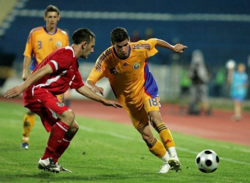 ROMANIA - INSULELE FEROE 3-0, scor final pe Stadionul Municipal!