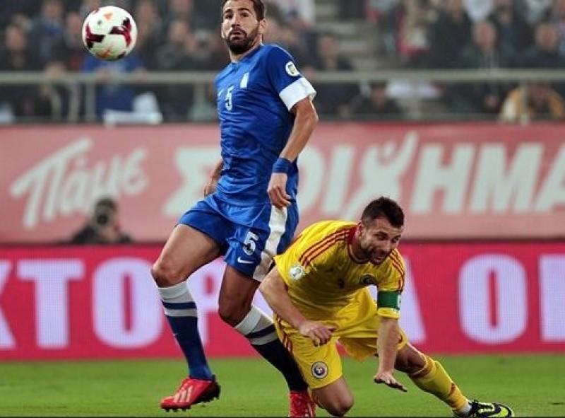 Romania, invinsa de Grecia in barajul pentru Cupa Mondiala