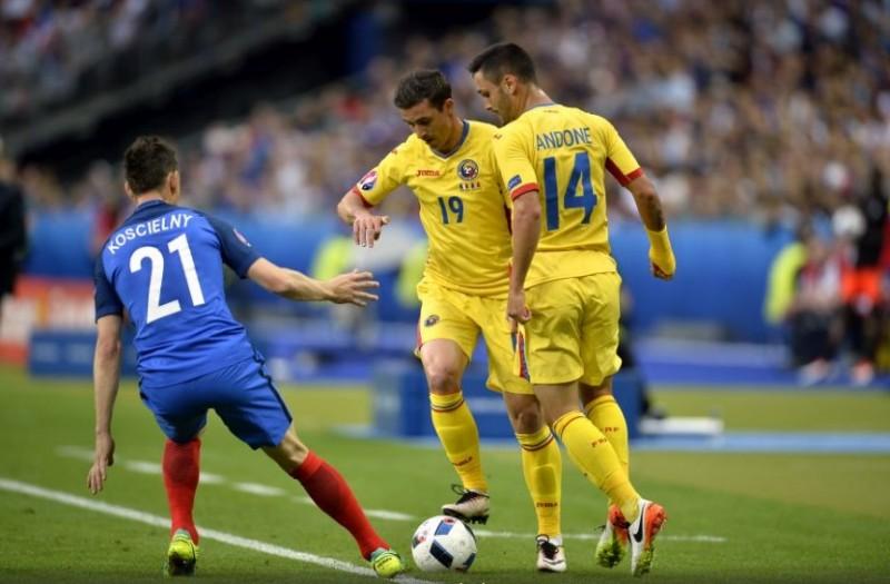 Romania pierde pe final cu Franta, dupa un debut botosanean la Euro! Un primar din Botosani prezent la Paris - FOTO