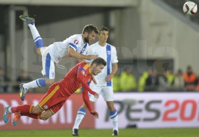 România trece cu 2-0 de Finlanda şi este tot mai aproape de EURO 2016 - VIDEO