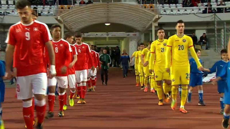 România U21, victorie în Elveția! Botosaneanul Andrei Burlacu a jucat titular!