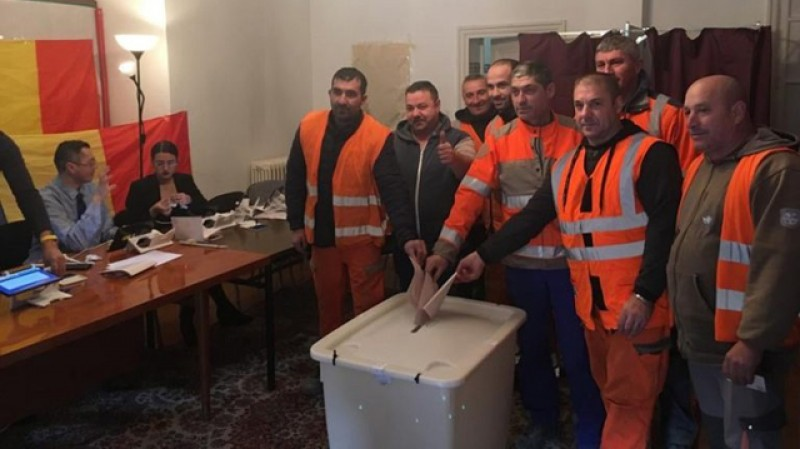 Românii din diaspora, în număr mare la vot