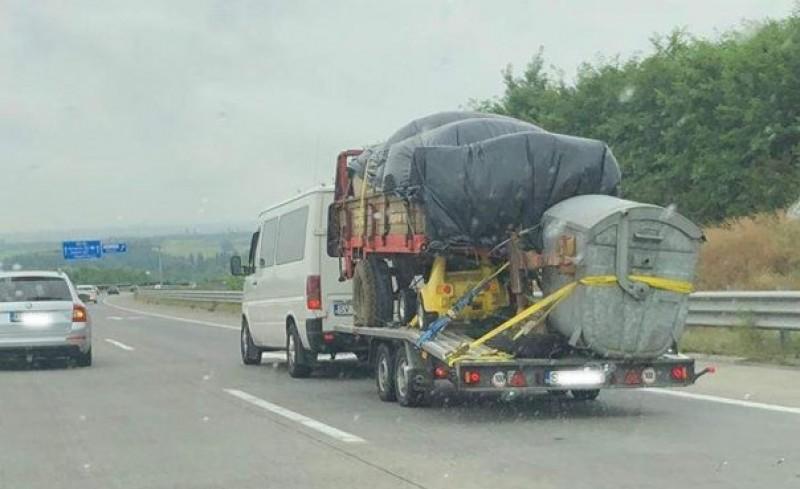 Românul care a atras toate privirile, pe o șosea din Ungaria!
