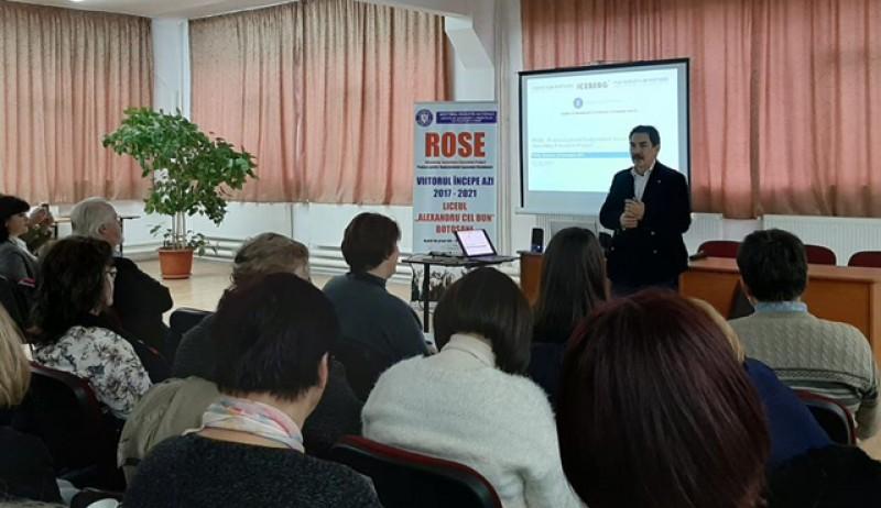 """ROSE – O conferință pentru performanță la Liceul """"Alexandru cel Bun"""" din Botoșani"""