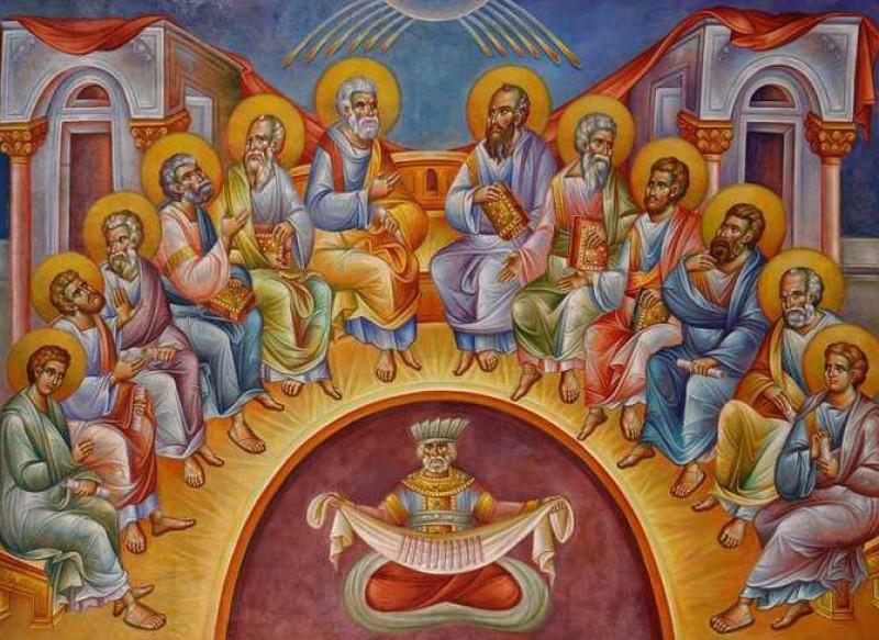 Rusaliile, Duminica Cincizecimii sau a Pogorarii Sfantului Duh