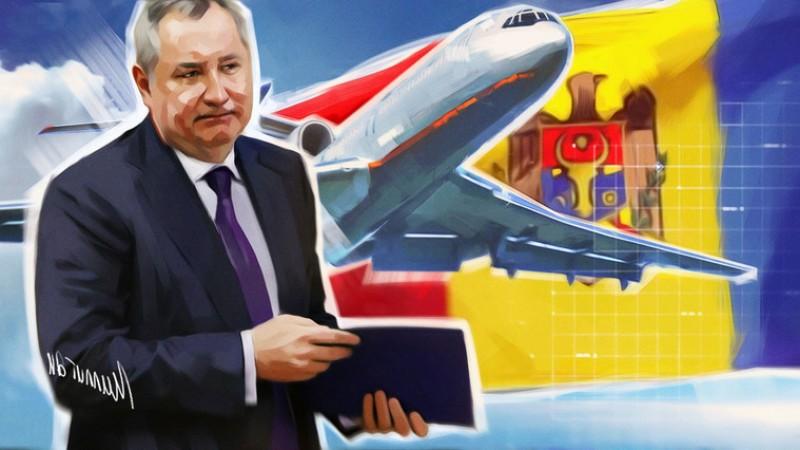 Ruşii mor de râs de Rogozin şi de Dodon