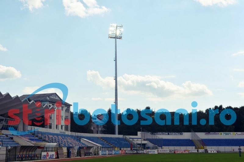 S-a aprins NOCTURNA pe Stadionul Municipal! FOTO