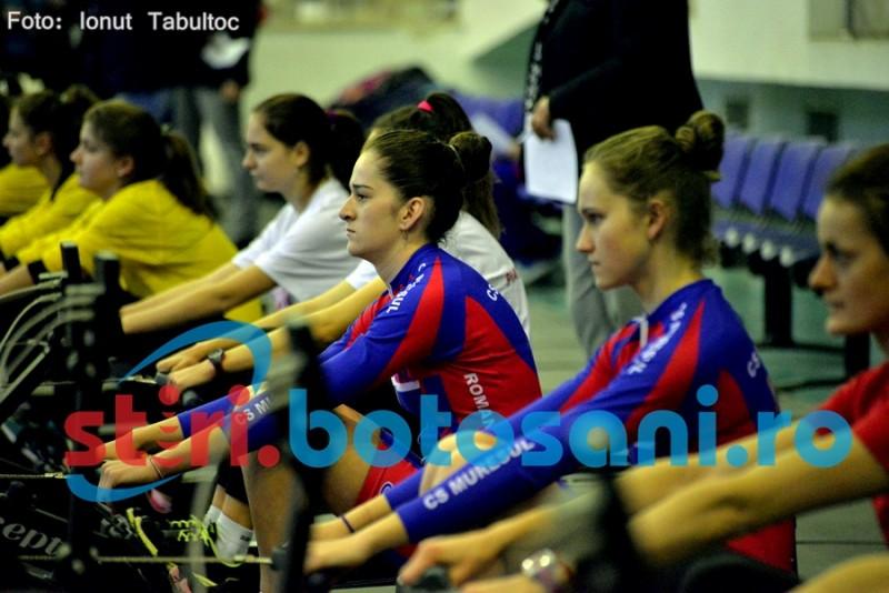 S-a dat STARTUL Campionatului National de Canotaj - ergometru, la Botosani! FOTO, VIDEO