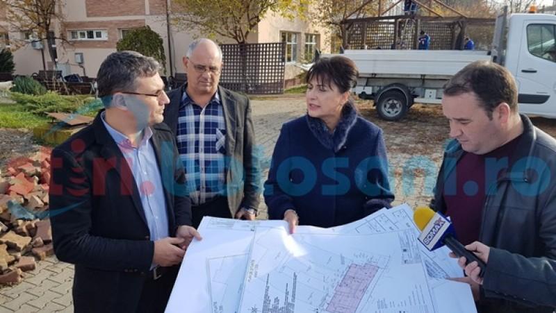 S-a dat startul lucrărilor la noul spital din municipiul Botoşani - FOTO