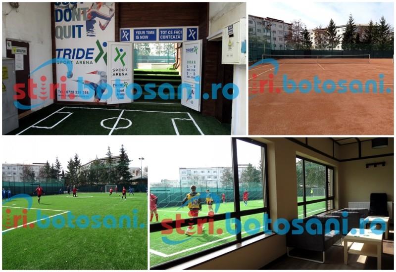 S-a deschis Tridex Sport Arena! Vezi cum arată cea mai nouă bază sportivă din municipiul Botoșani! FOTO