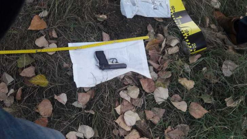 S-a găsit arma furata de la jandarmul agresat la mitingul din 10 mai