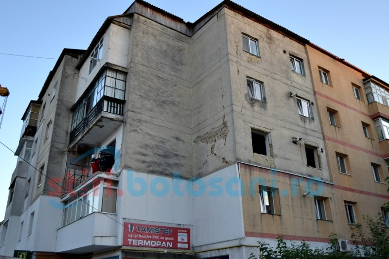 S-a găsit proiectant pentru blocul din Primăverii, afectat de explozie