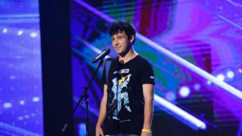 S-a întors la Românii au talent! Botoșăneanul care a uimit juriul și publicul! VIDEO