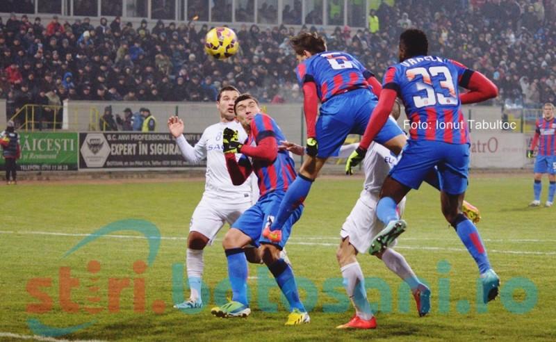 S-a stabilit data si ora meciului dintre FC Botosani si Steaua!