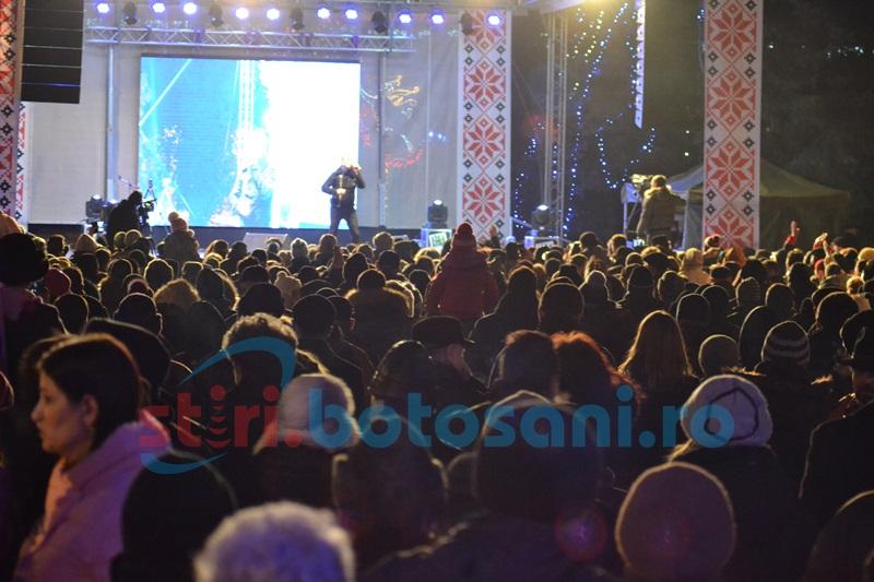 Revelion în stradă organizat de municipalitatea botoşăneană