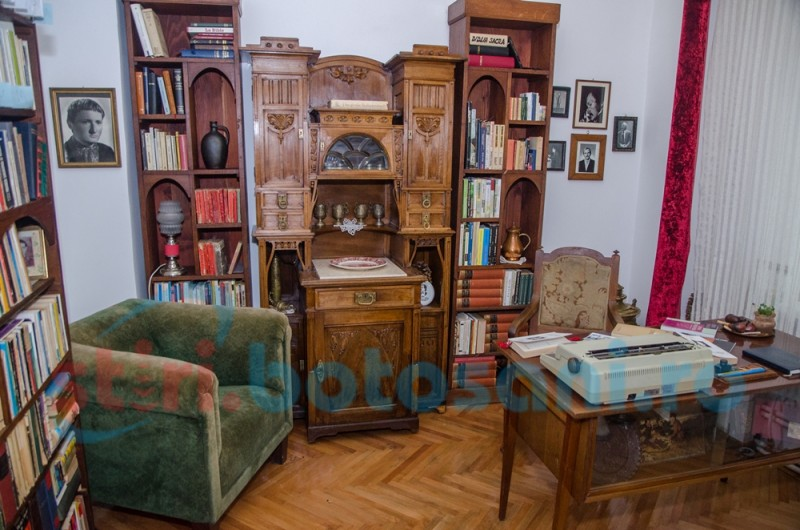 "Sala ""Mihai Ursachi"" la Ipotești, un tezaur cultural cu aer testamentar - FOTO"