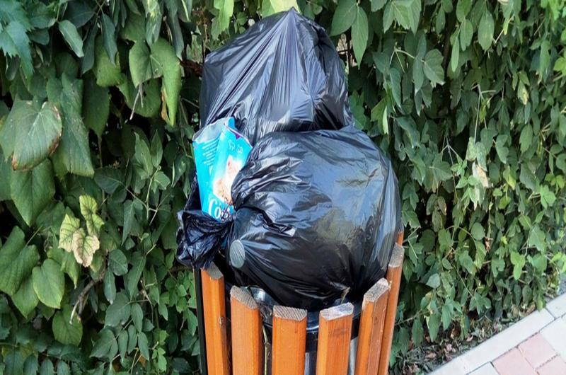 La asta nu se aștepta nimeni: Urbanserv SA va căuta în pungile de gunoaie probe despre cetățenii care aruncă deșeurile la coșurile stradale