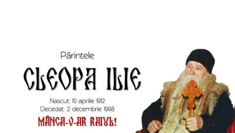 Sâmbătă se împlinesc 109 ani de la nașterea duhovnicului botoșănean, părintele Cleopa Ilie