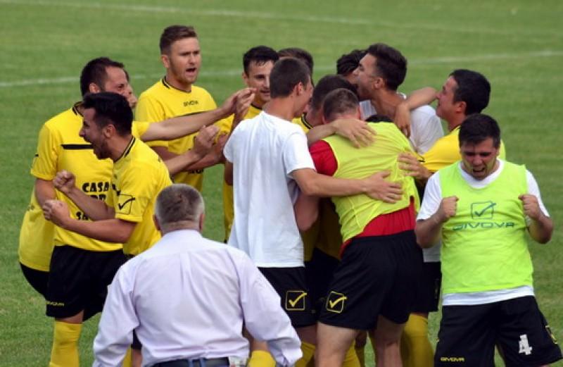Sănătatea Darabani a promovat în Liga a III-a! Răzvan Cărăbuș a fost omul meciului retur!
