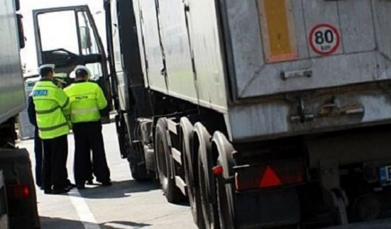 Sancţiuni de peste 55.000 de lei în acţiunea de control TRUCK&BUS de la Botoșani!