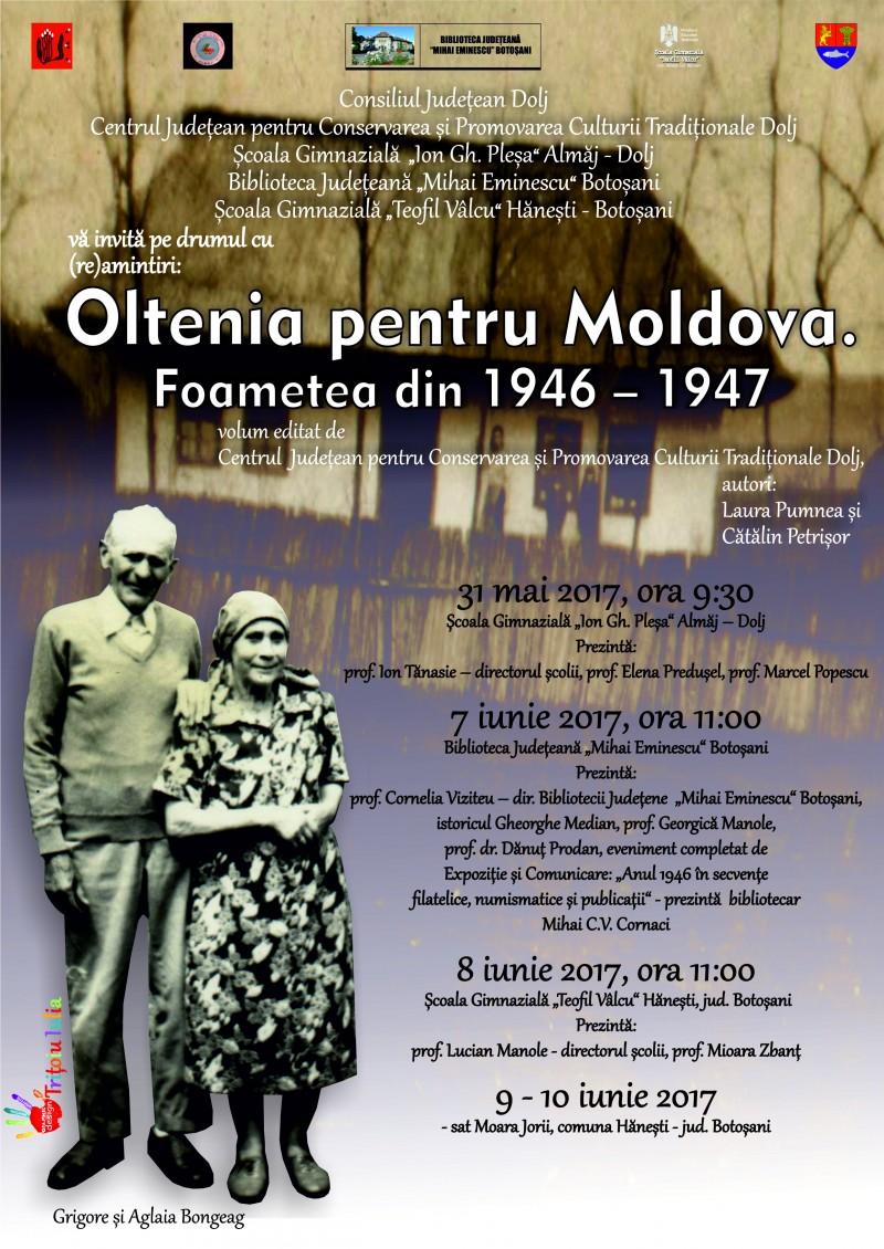 Săptămâna Oltenia pentru Moldova, la Biblioteca Județeană Botoșani