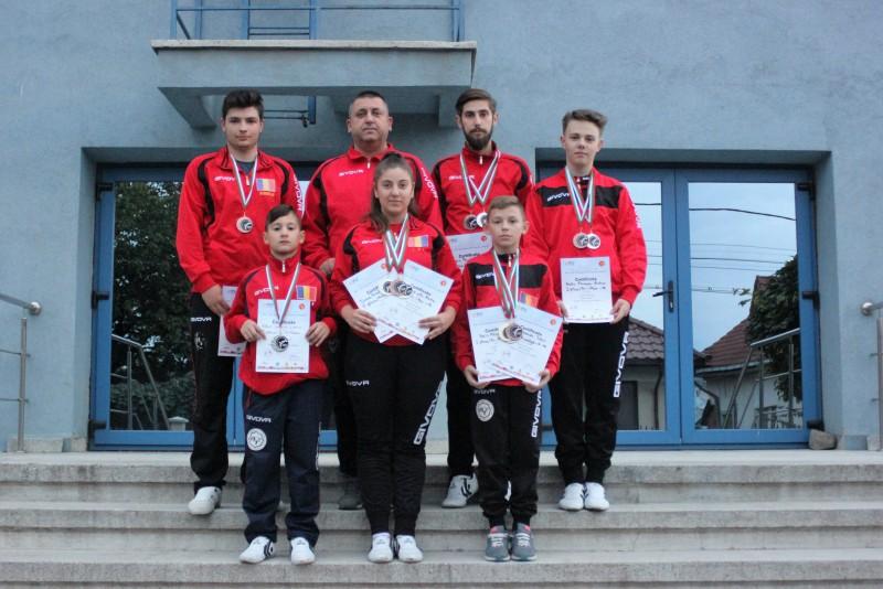 Șapte botoșaneni in lotul național al României la Campionatului Balcanic de Taekwondo WTF - FOTO