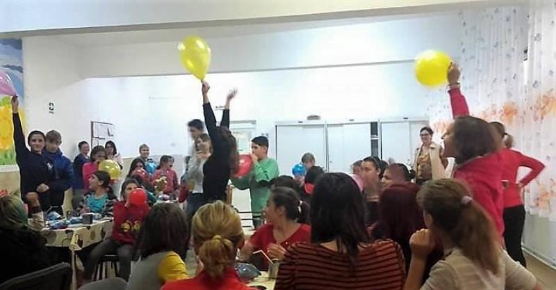 Sărbătoare alături de copiii Centrului de Plasament Prietenia!