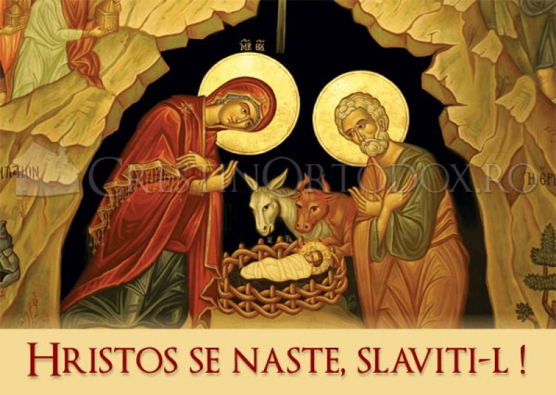 Sărbătoarea Crăciunului - Nașterea Domnului