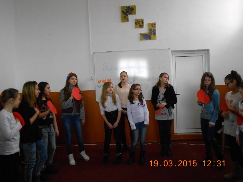 Sărbătoarea Francofoniei, la Şcoala 8 Botoşani!