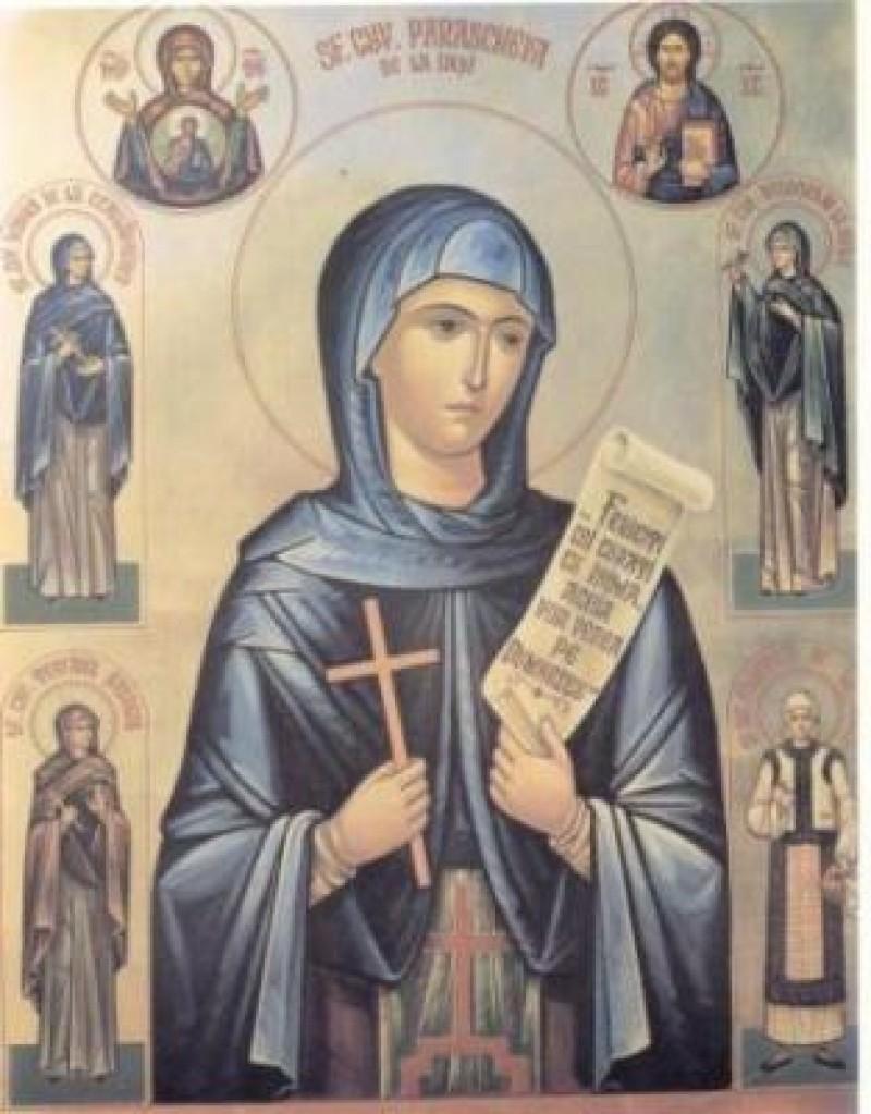 Sarbatoarea Sf. Cuv. Parascheva, ocrotitoarea Moldovei si a Bucovinei