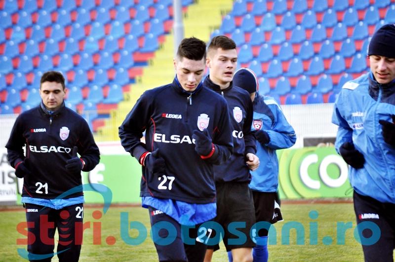 Sase jucatori in probe la FC Botosani! Trei dintre ei sunt juniori - GALERIE FOTO