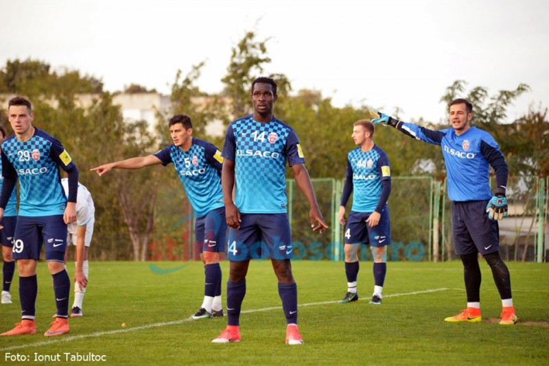 Șase, șase, vine Kuku! Nigerianul a stralucit in amicalul celor de la FC Botosani - FOTO