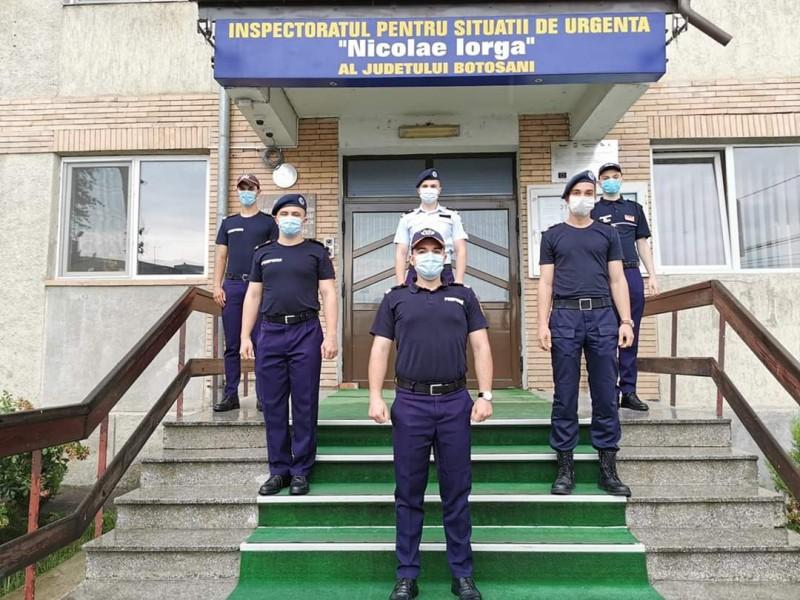 Șase studenți vor face practică la Inspectoratul pentru Situații de Urgență din Botoșani