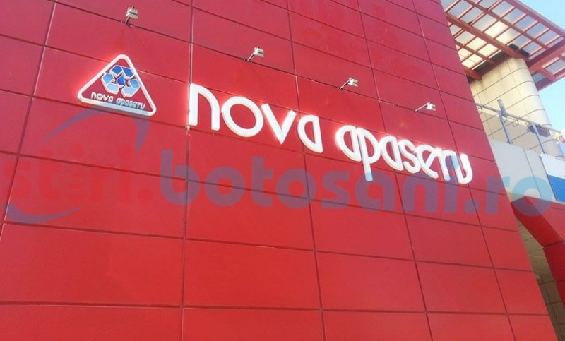S.C. Nova Apaserv S.A. Botoşani anunță modificarea cotei TVA: Reduceri ale facturilor plătite de utilizatori