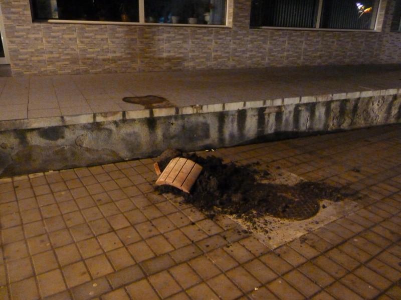 Scandal de pomină în centrul orașului! FOTO