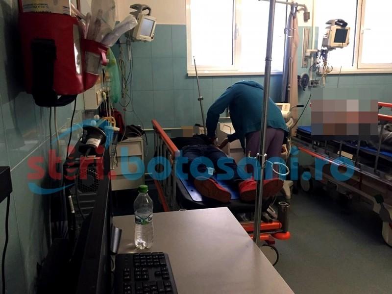 SCANDAL în plină zi! Două persoane au ajuns la spital, după o bătăie cu bâta de baseball și un pistol!