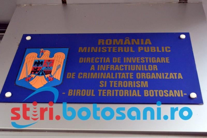 Schemă incompletă de magistraţi la DIICOT Botoşani