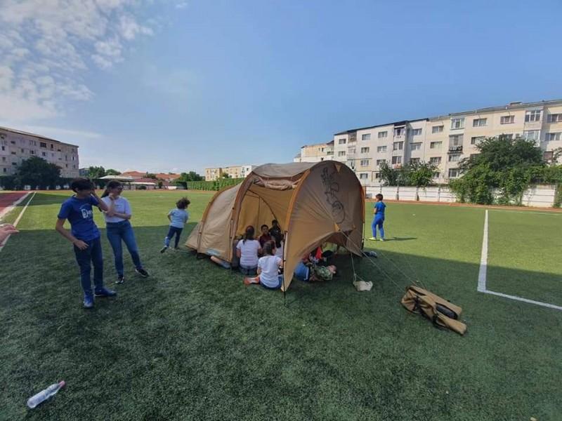 Școală de vară la Liceul cu Program Sportiv Botoșani