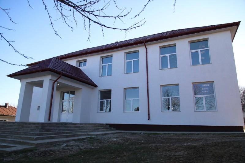 Școală renovată lângă Botoșani cu bani de la Ministerul Dezvoltării