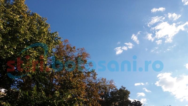 Se apropie toamna la Botoşani! Estimări meteorologice pentru următoarele zile