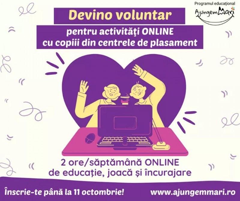 Se caută voluntari pentru educația copiilor și tinerilor instituționalizați din Botoșani