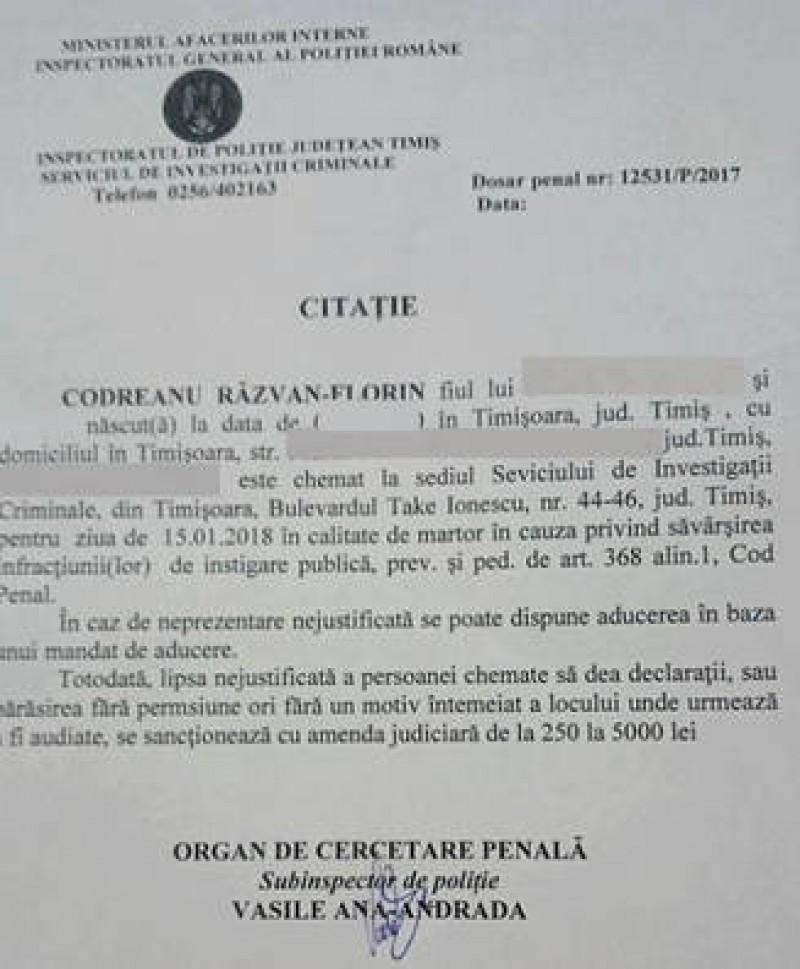 Se întâmplă în România! Dosare penale pentru instigare la protest pe Facebook!