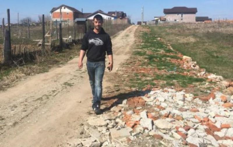 Se întâmplă în România: Și-au reparat singuri strada iar acum au dosare penale!