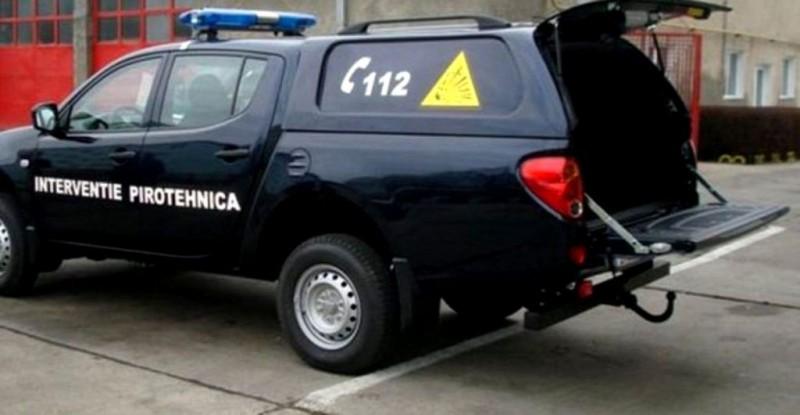Se întâmplă în România: Un șofer inconștient a șicanat în trafic o mașină MAI care transporta o bombă!