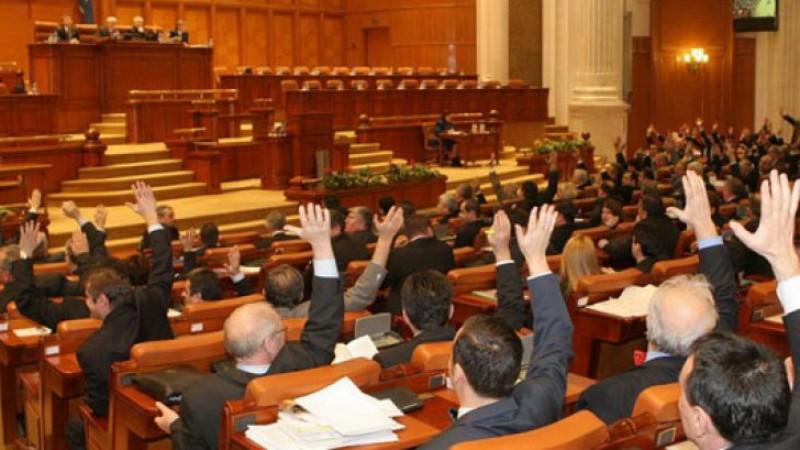 Se întrunește noul Parlament. Leon Dănăilă conduce ședința în Senat!