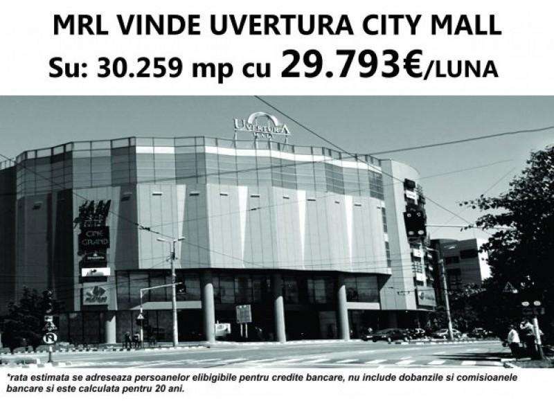 Se vinde Uvertura City Mall Botosani, la pretul de 32.749.510 lei!