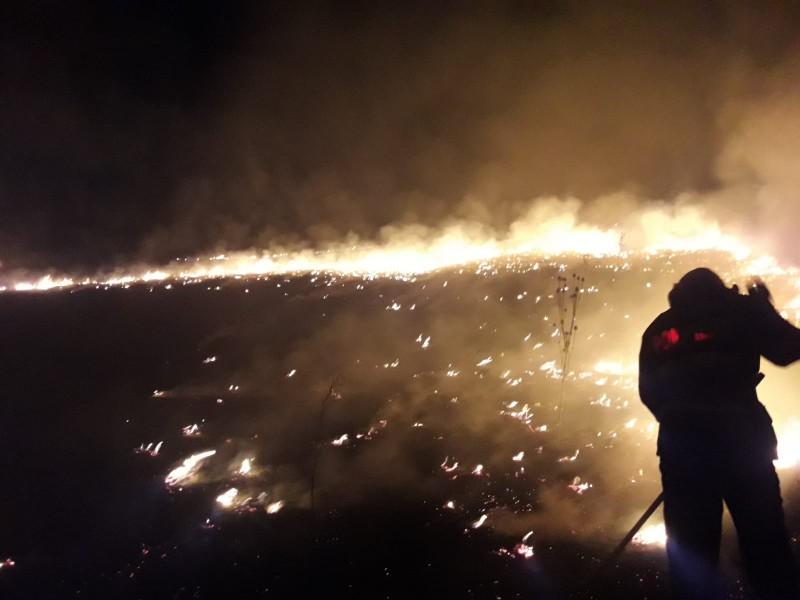Seară de foc în județ. Bunuri de peste 250.000 de lei salvate de către pompierii botoșăneni