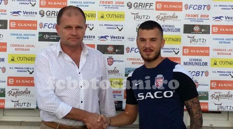 """Sebastian Chitosca a fost prezentat oficial la FC Botosani: """"Aveam nevoie de o nouă provocare"""""""