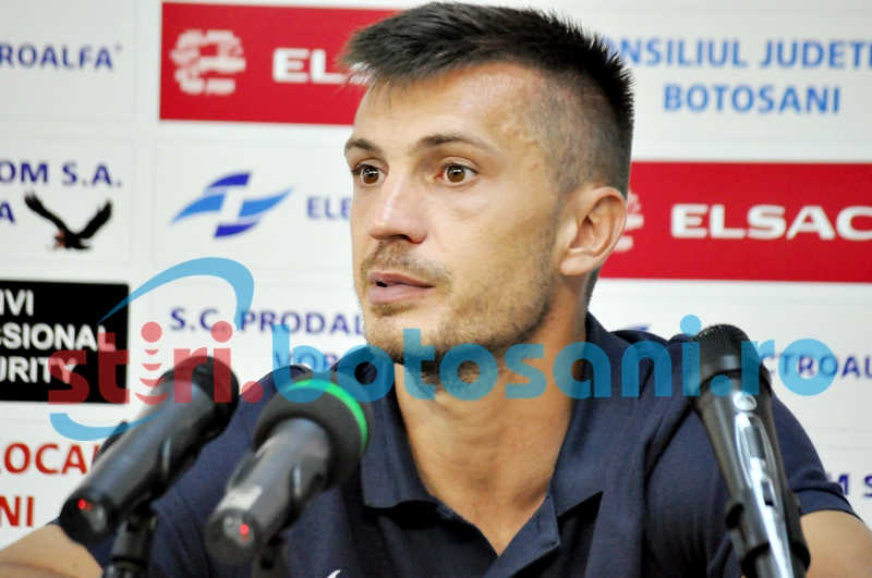 "Sebastian Ianc, suparat pe arbitraj: ""Am avut penalty la 1-0. Ne cerem scuze spectatorilor si mergem la Petrolul sa castigam"""