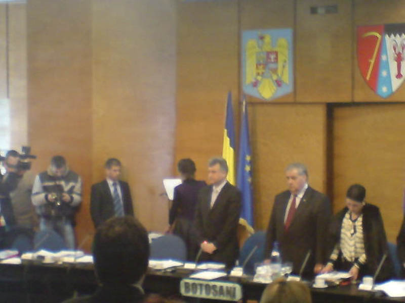 Sedinta Consiliului Judetean Botosani, in direct pe internet!